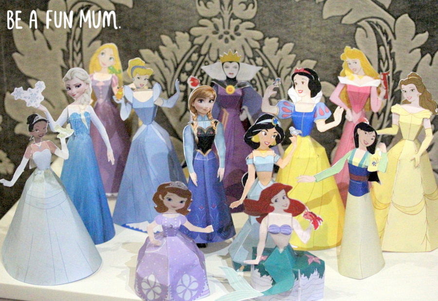 Disney Printable Paper Dolls