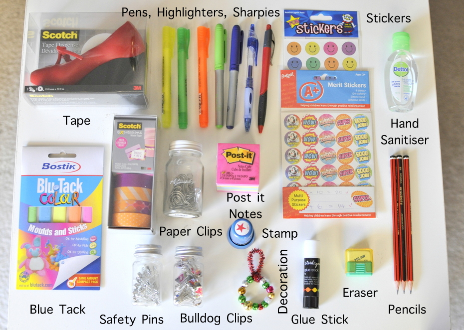 End of Year Teacher Gift Ideas - Stationery Pack