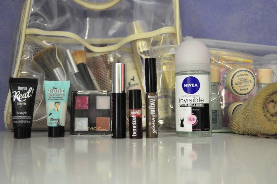 Borne Naked Makeup Bag - Travel Makeup