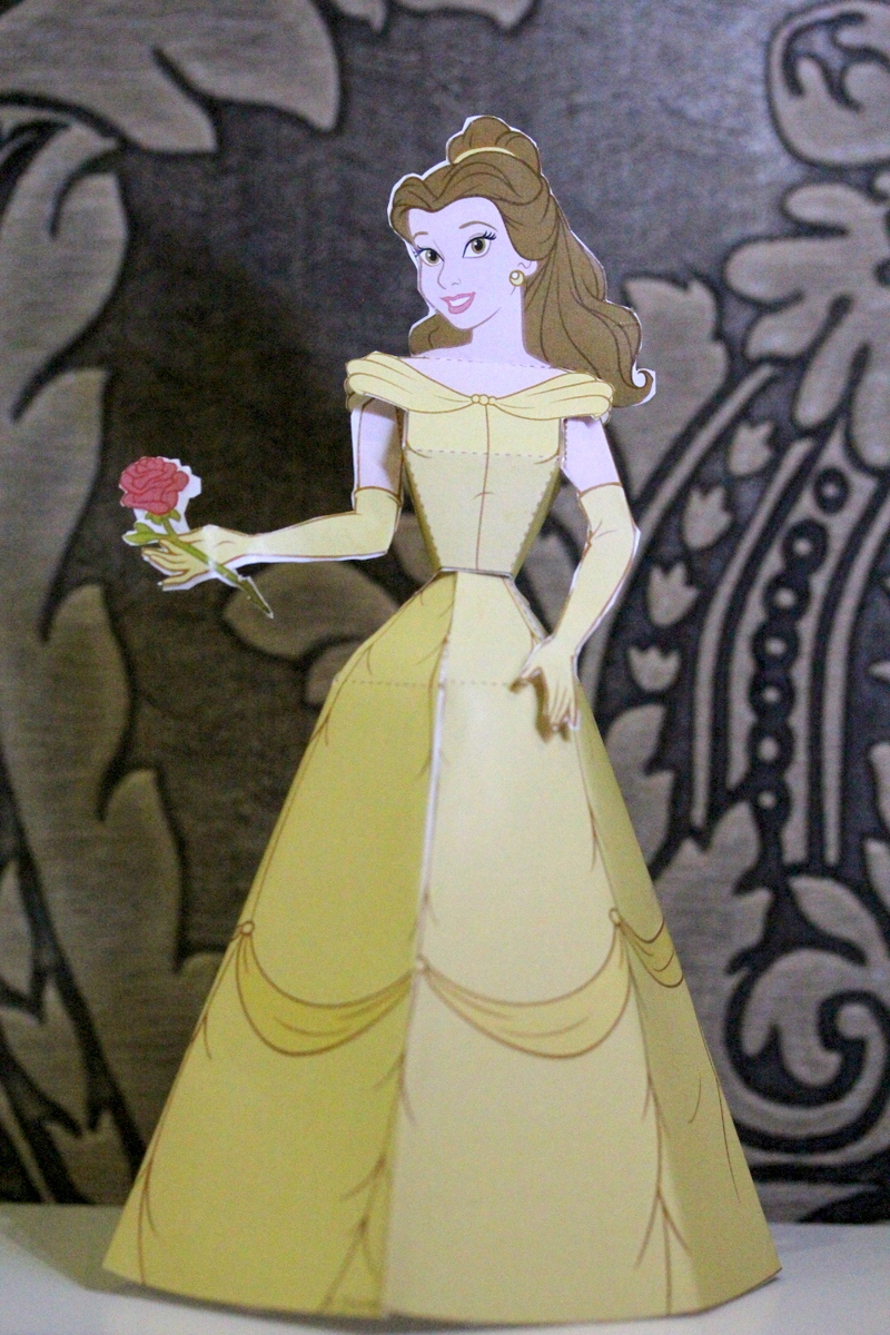 Beauty & The Beast - Belle Paper Doll