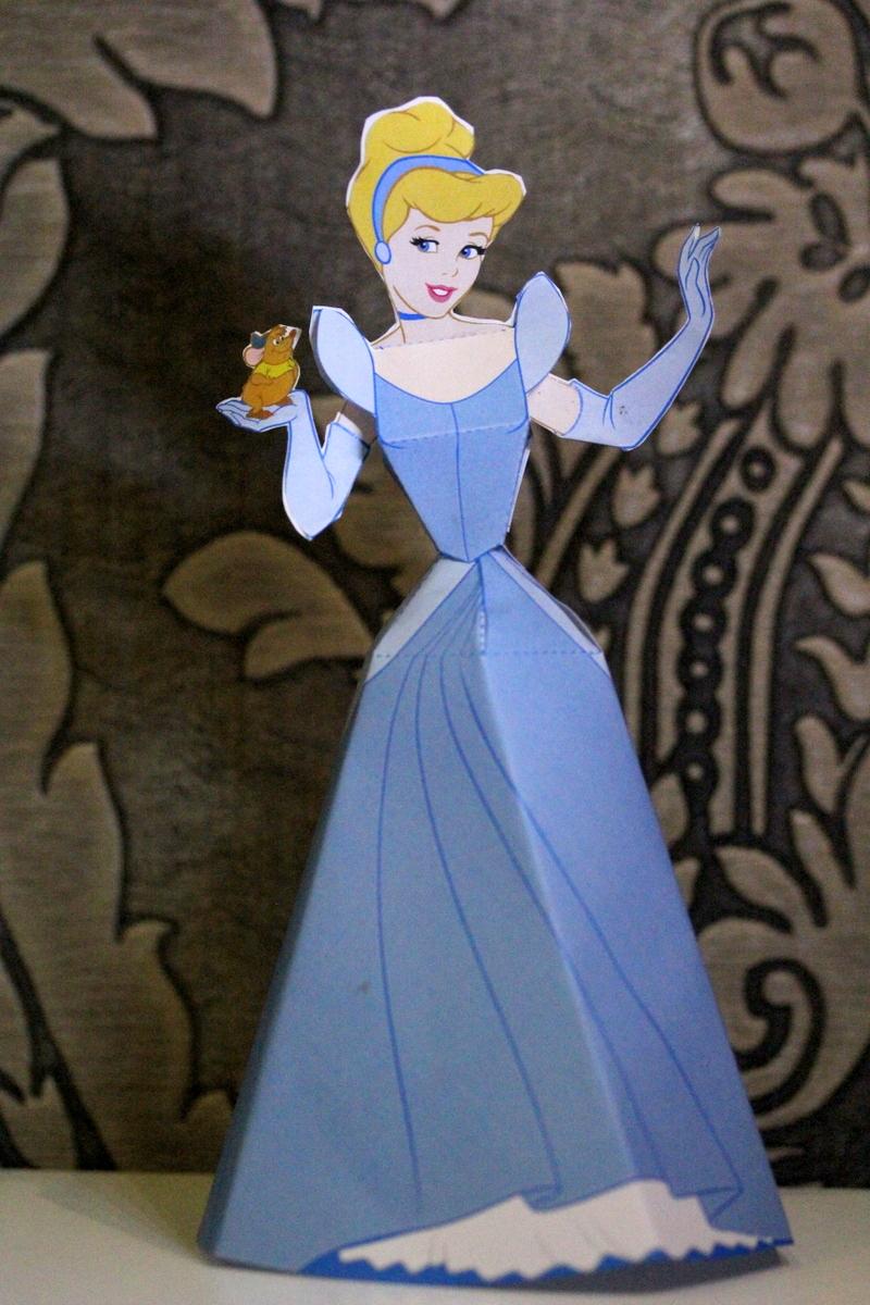 Cinderella - Cinderella Paper Doll