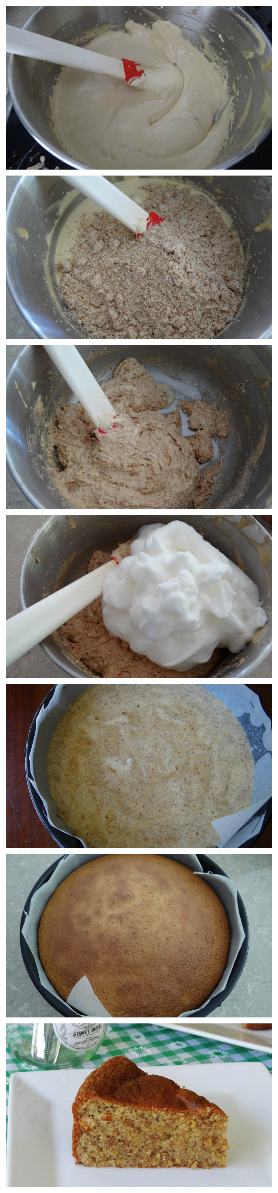 3 ingredient almond cake (gluten and dairy free)
