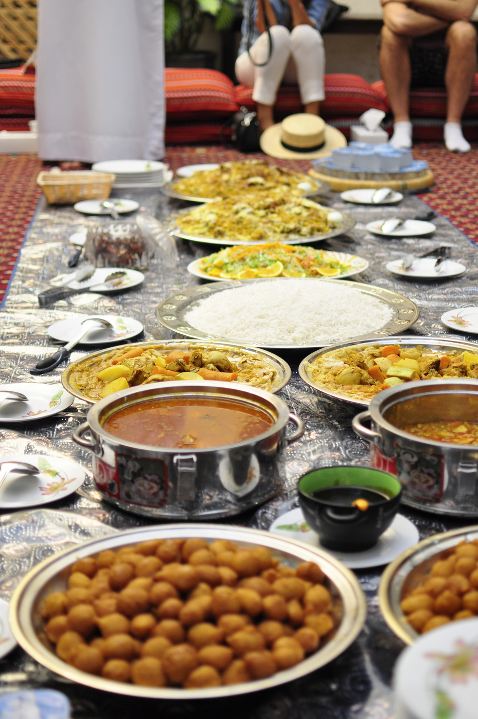 Traditional Arabian Meal