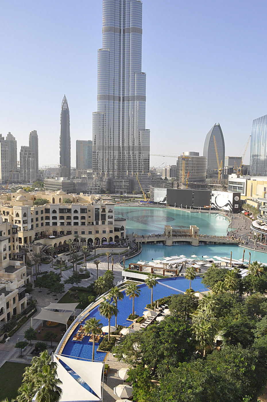 The Address Downtown - Dubai - the pool