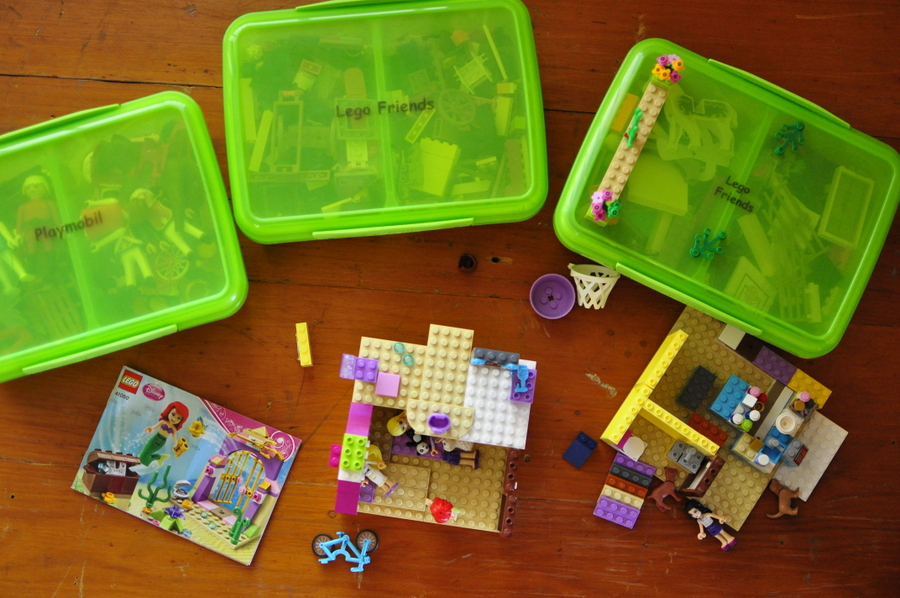 Family Home Ideas - Lego Containers
