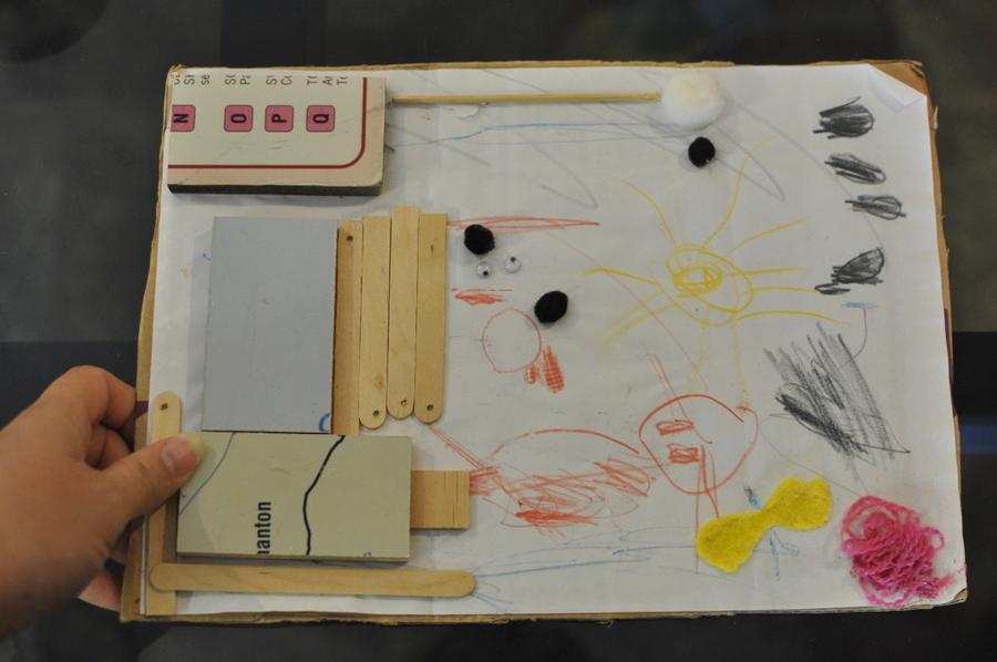 Keeping kids artwork and school memories