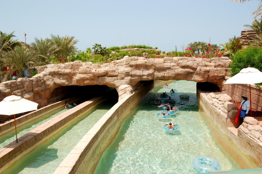 Aquaventure Waterpark - Dubai - River Rapids