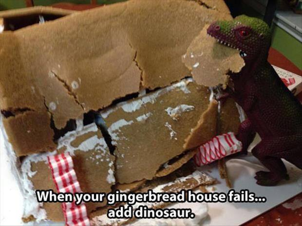 For all the gingerbread fails in the world #yourewelcome