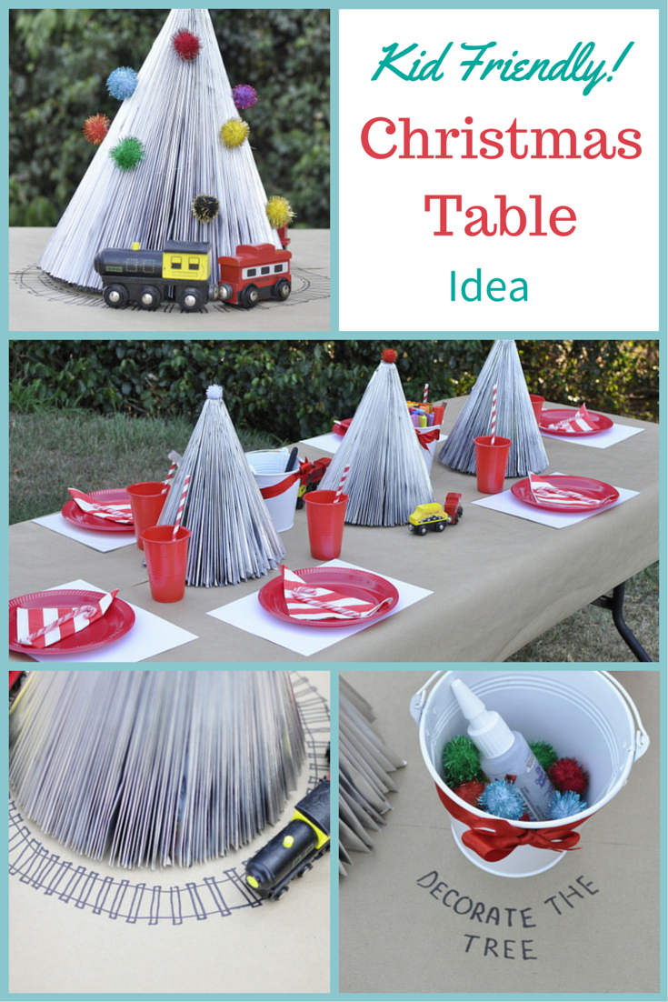Kid Friendly Christmas Table