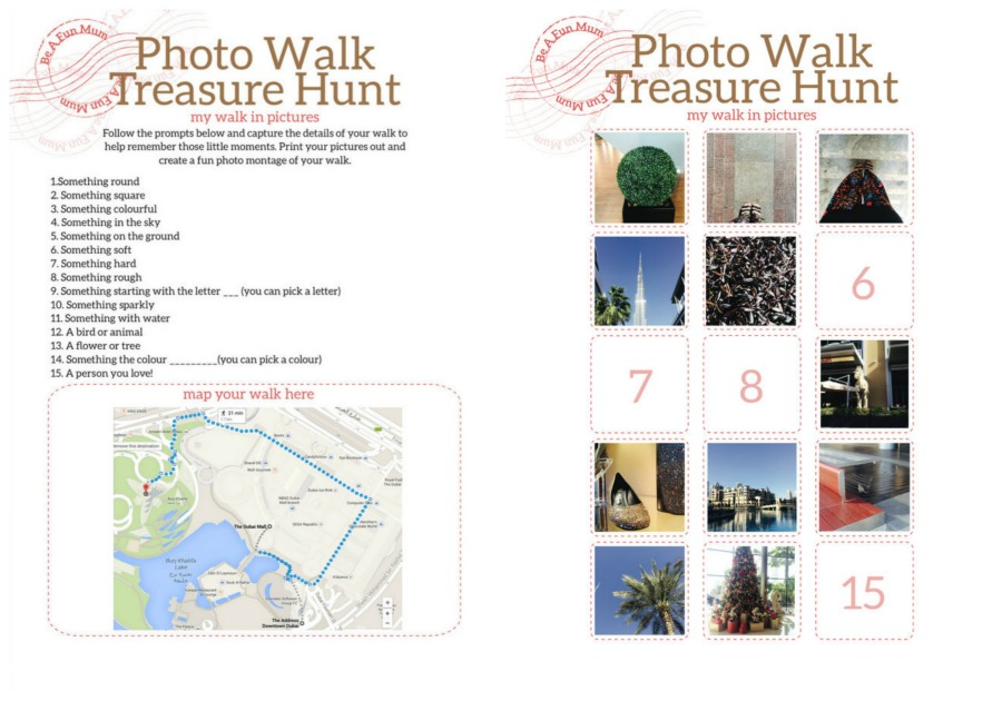 Treasure Hunt Photo Walk