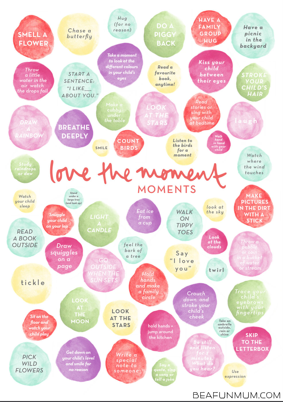 Love the Moment Poster