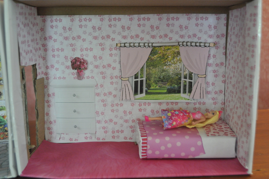 Shoebox dollhouse be a fun mum for Cool things to make out of a shoe box