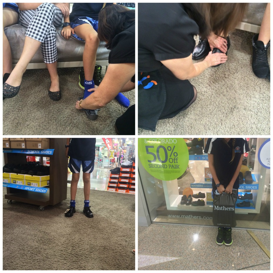 Mathers School shoes fitting