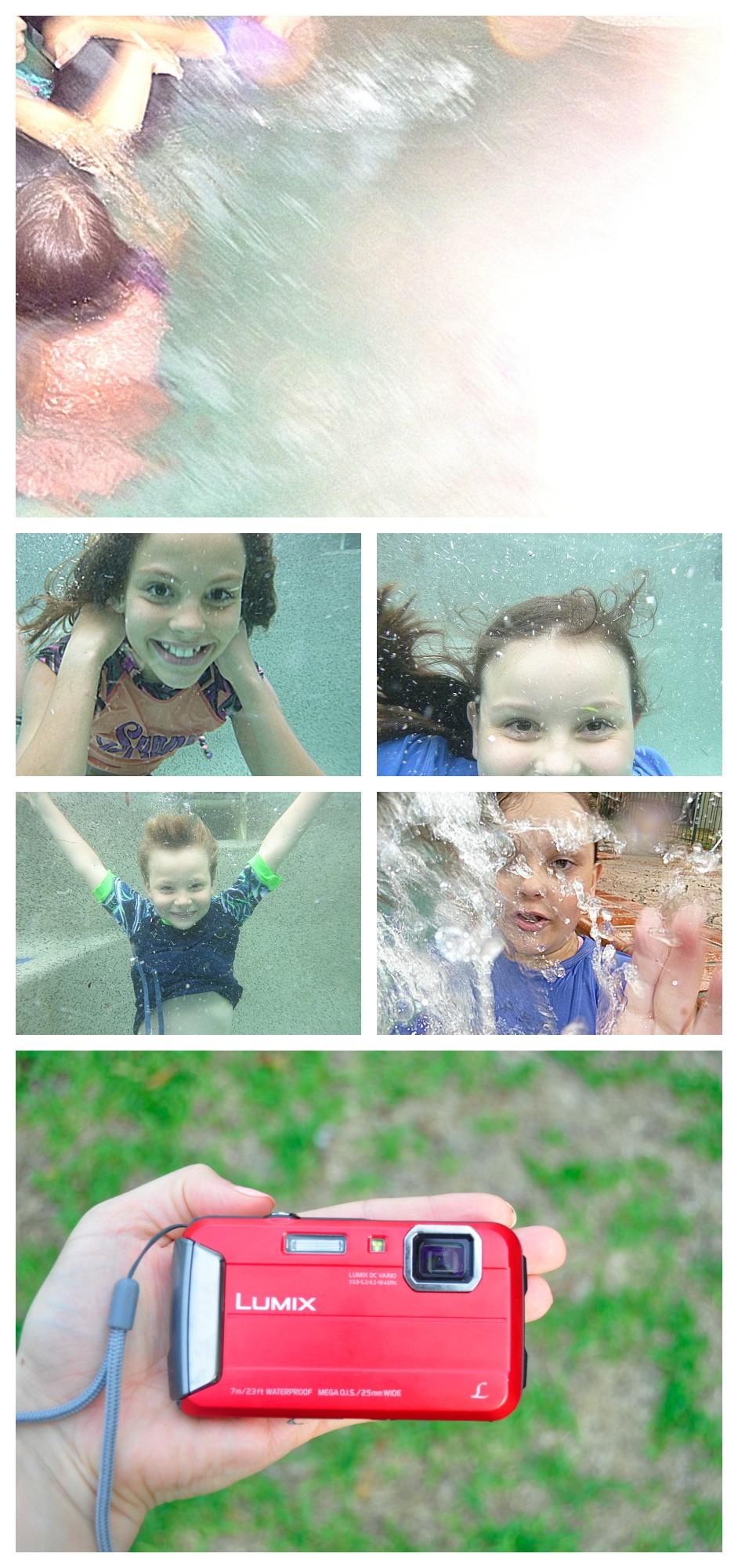 Panasonic Lumix FT25 waterproof camera  - Underwater photos