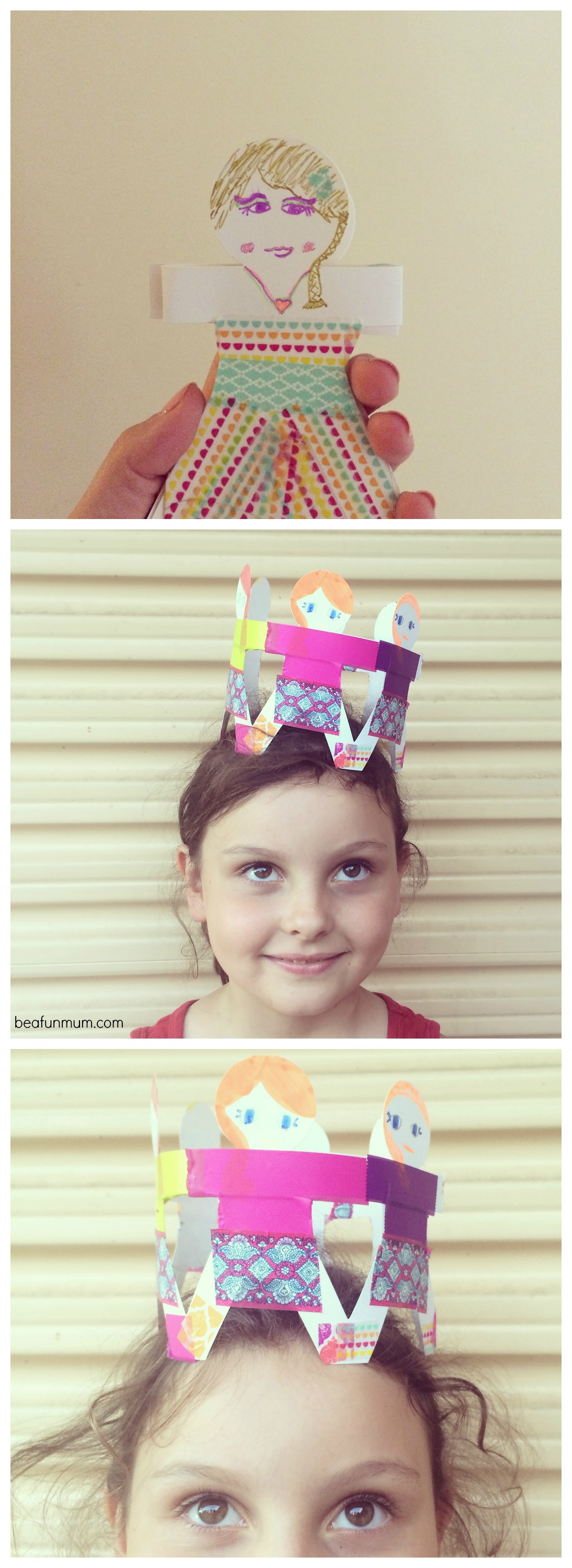 Paper Doll Crown