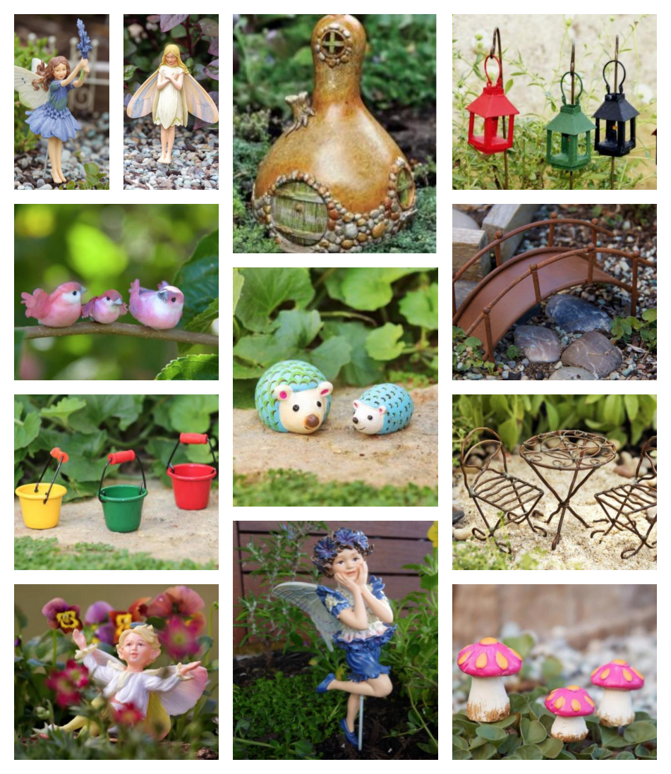 Miniature terrarium fairy garden be a fun mum - Garden decor accessories ...