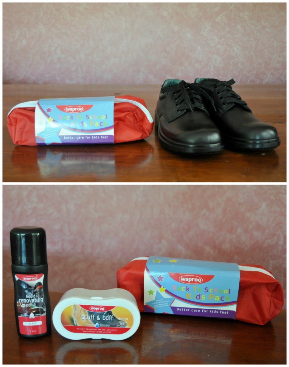 Waproo School Shoe Polish Kit