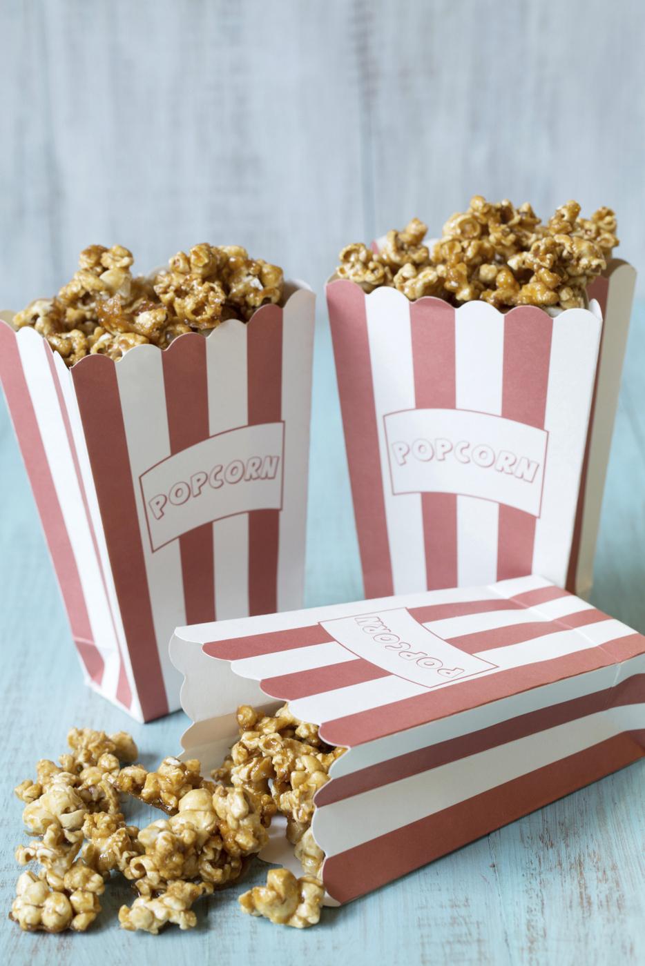 Caramel Popcorn Recipe (refined sugar free)