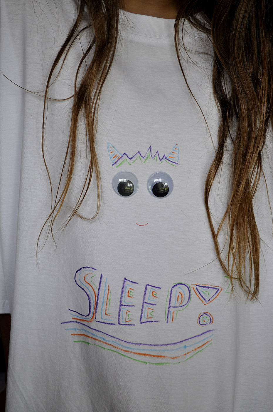 Googly Eyed Monster Sleep Shirt