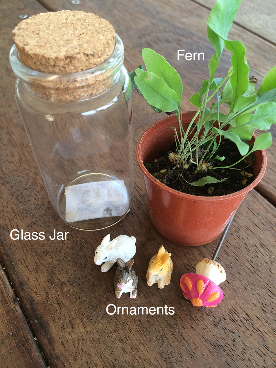 Easter Miniature Terrarium Sugar Free Nature Gift items