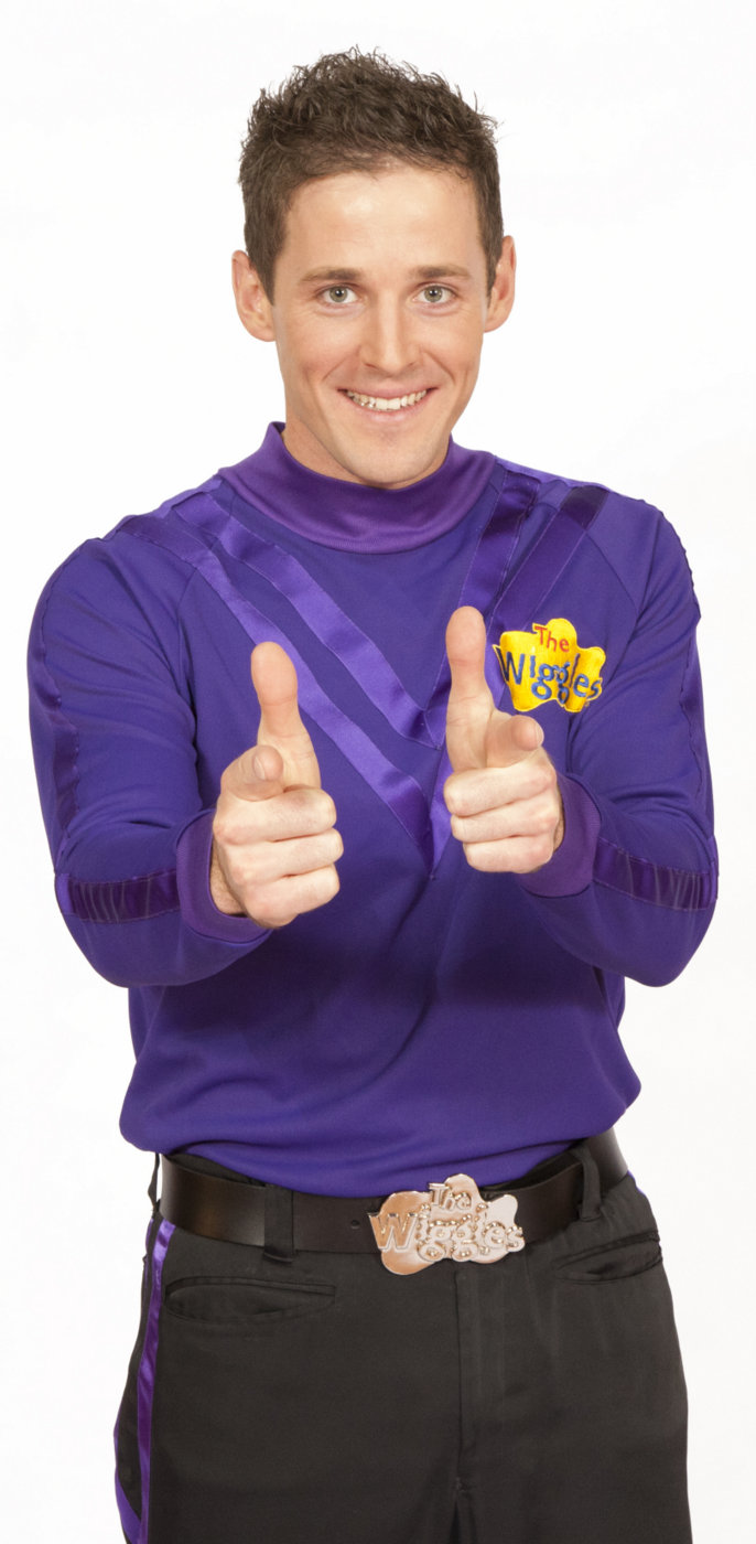 Purple Wiggle Lachy