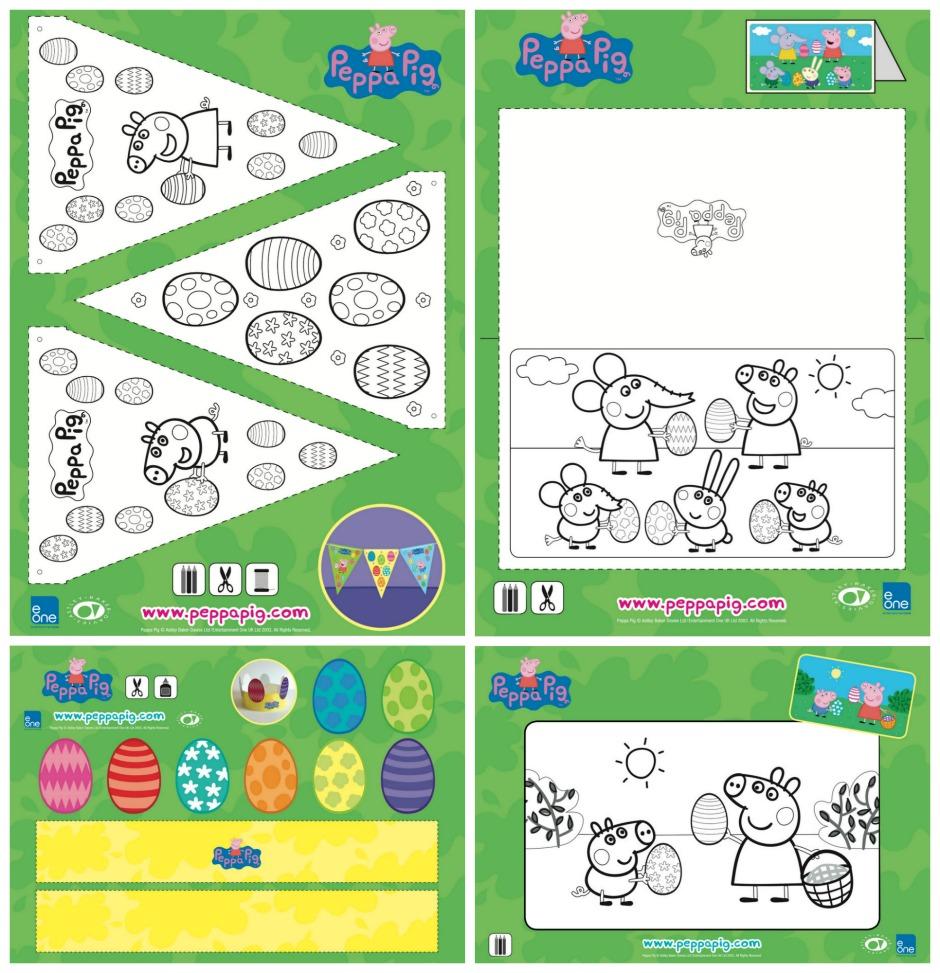 Peppa Pig Easter Craft & Activities
