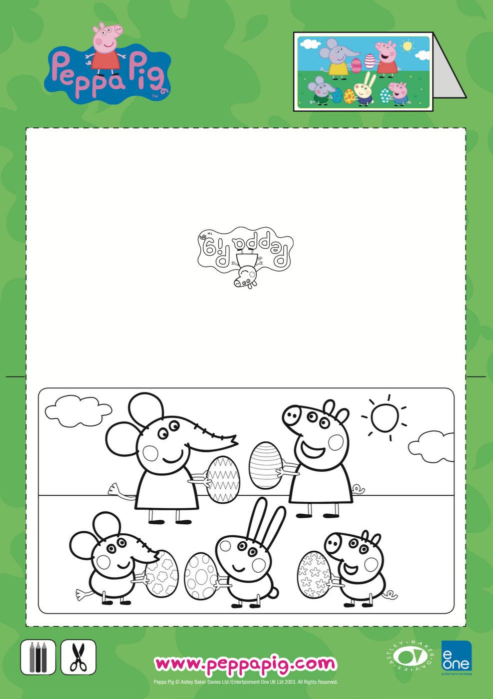 Peppa Pig Easter Craft & Activities – Be A Fun Mum
