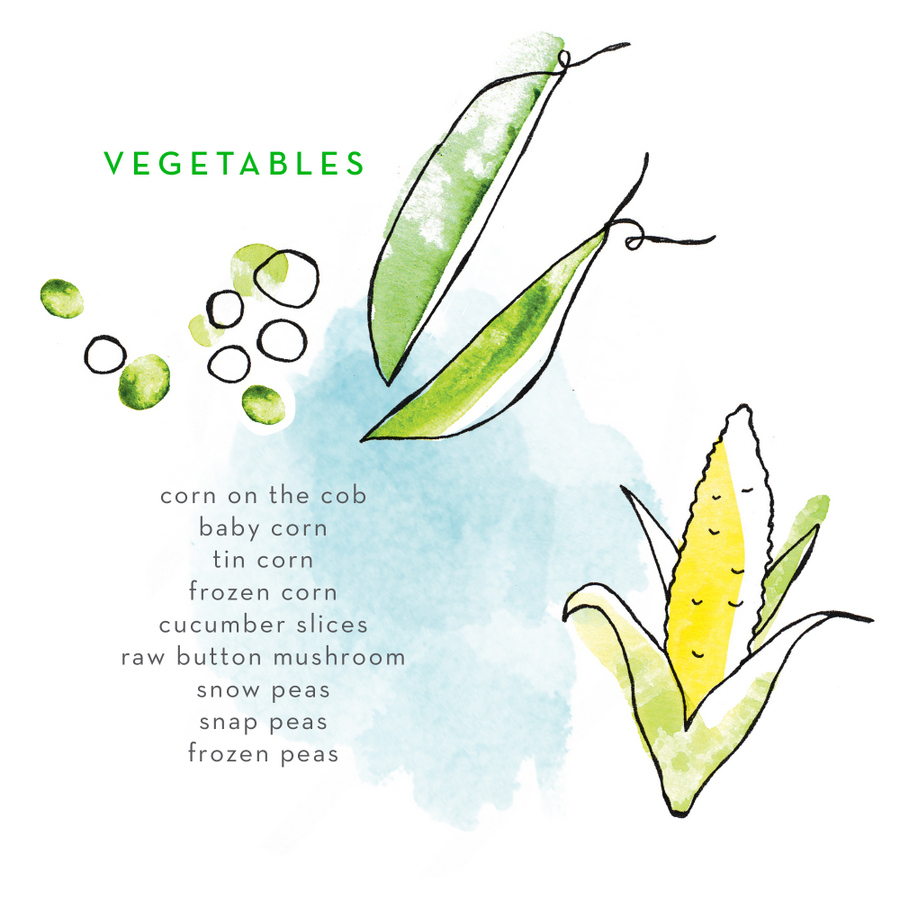Lunch Box Food Ideas - vegetables