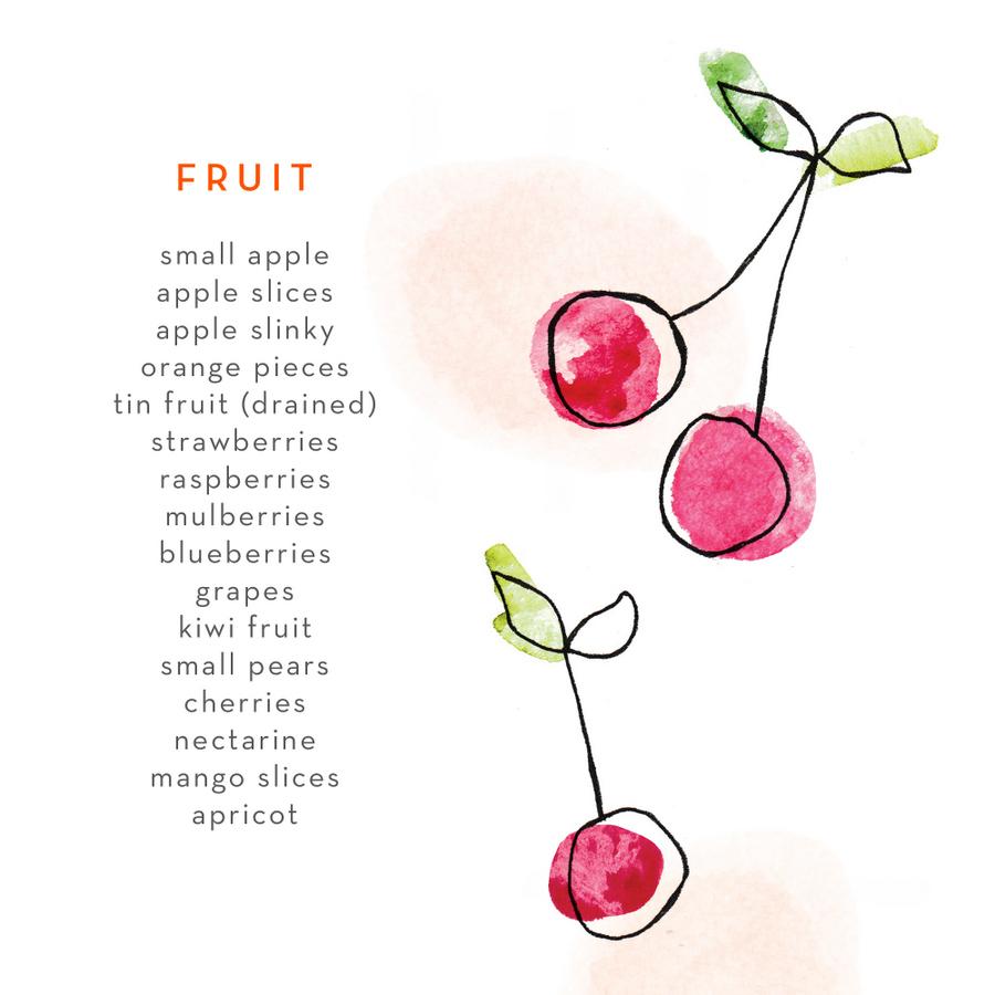 Lunch Box Food Ideas - fruit