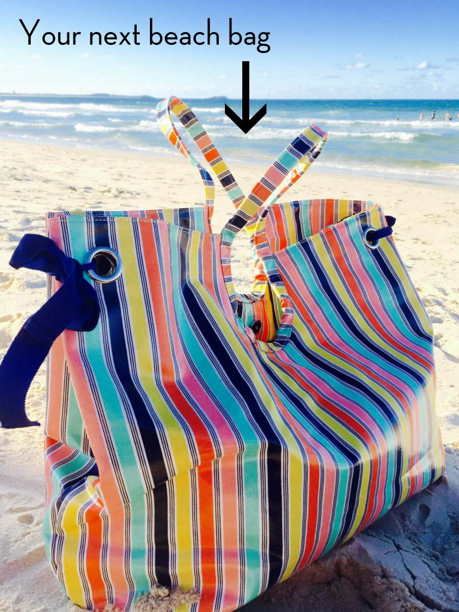 Catherine Kelly Beach Bag