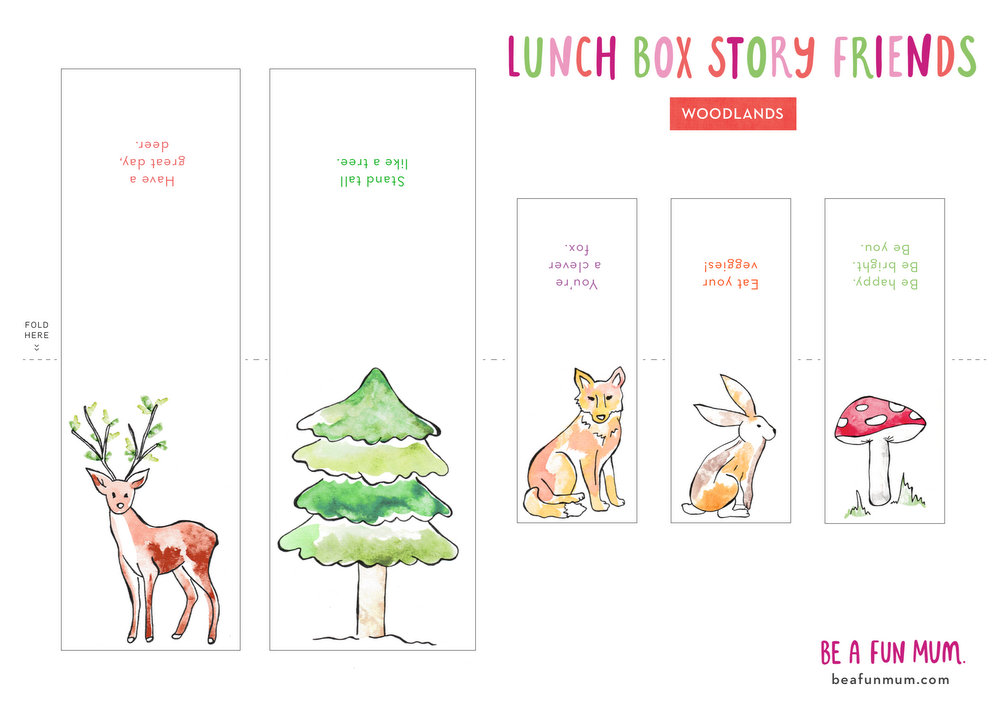 Lunch Box Notes - Story Friends