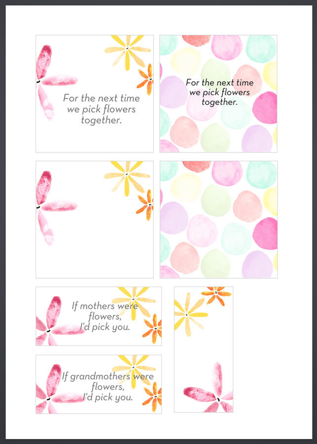 Mother's Day Gift Card Printable