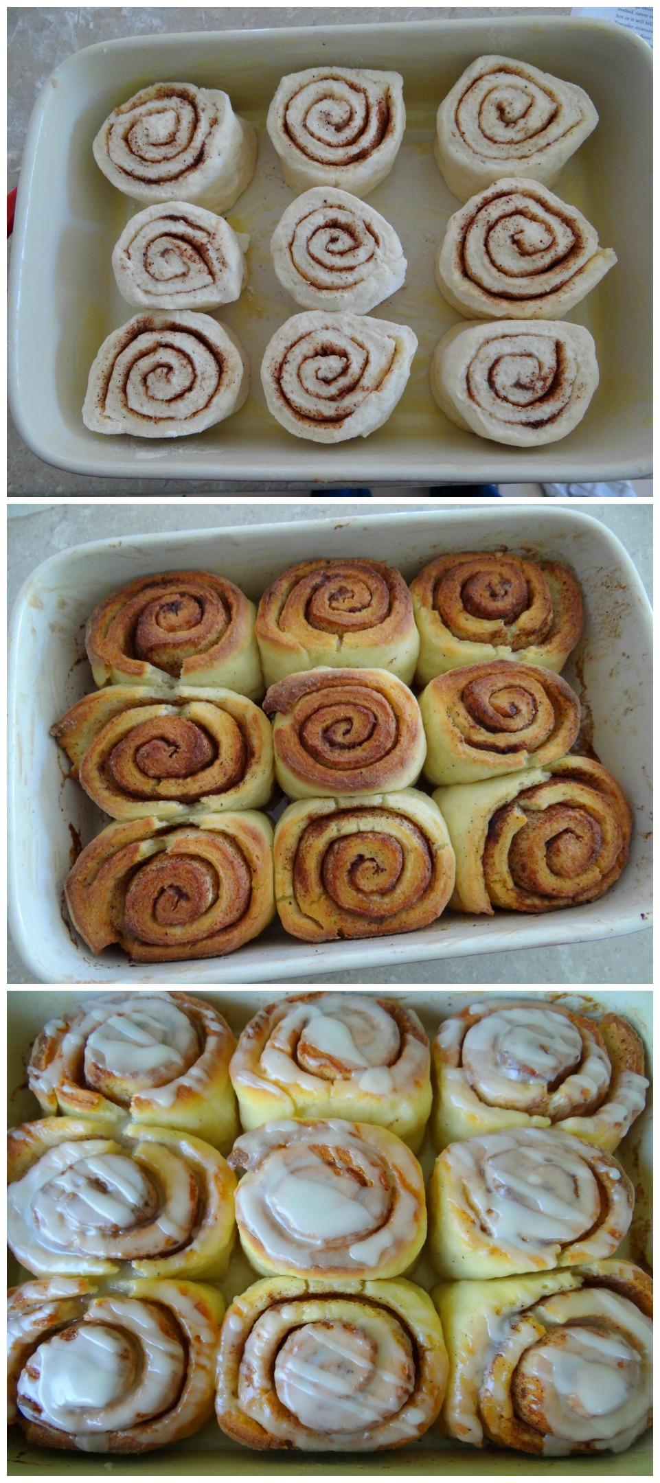 cinnamon scrolls - quick, easy and delicious