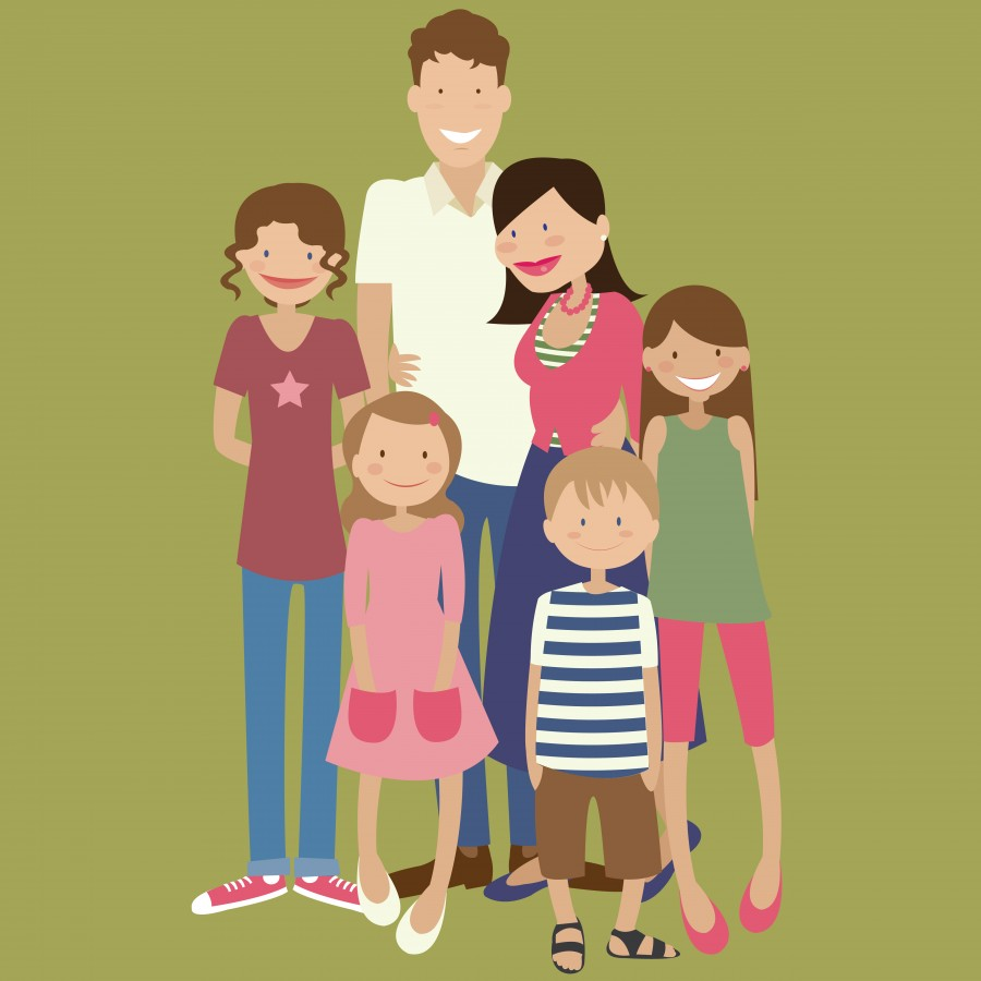 Personalised Pop Portrait of your family