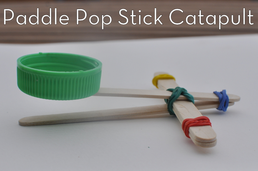 Paddle Pop (popsicle) Stick Catapult