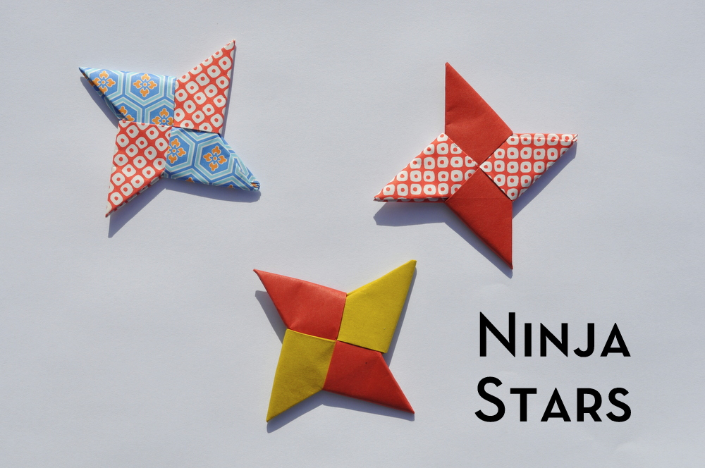 How to Make a Paper Pointy Ninja Star (Origami Throwing Star ... | 664x1000