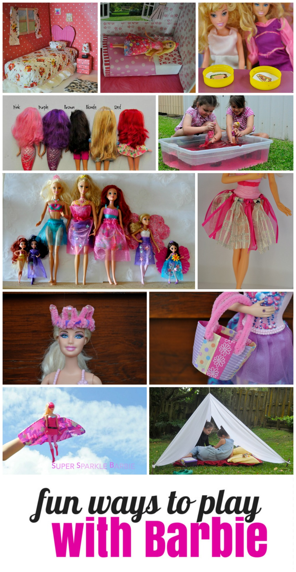 Fun ways to play with Barbie
