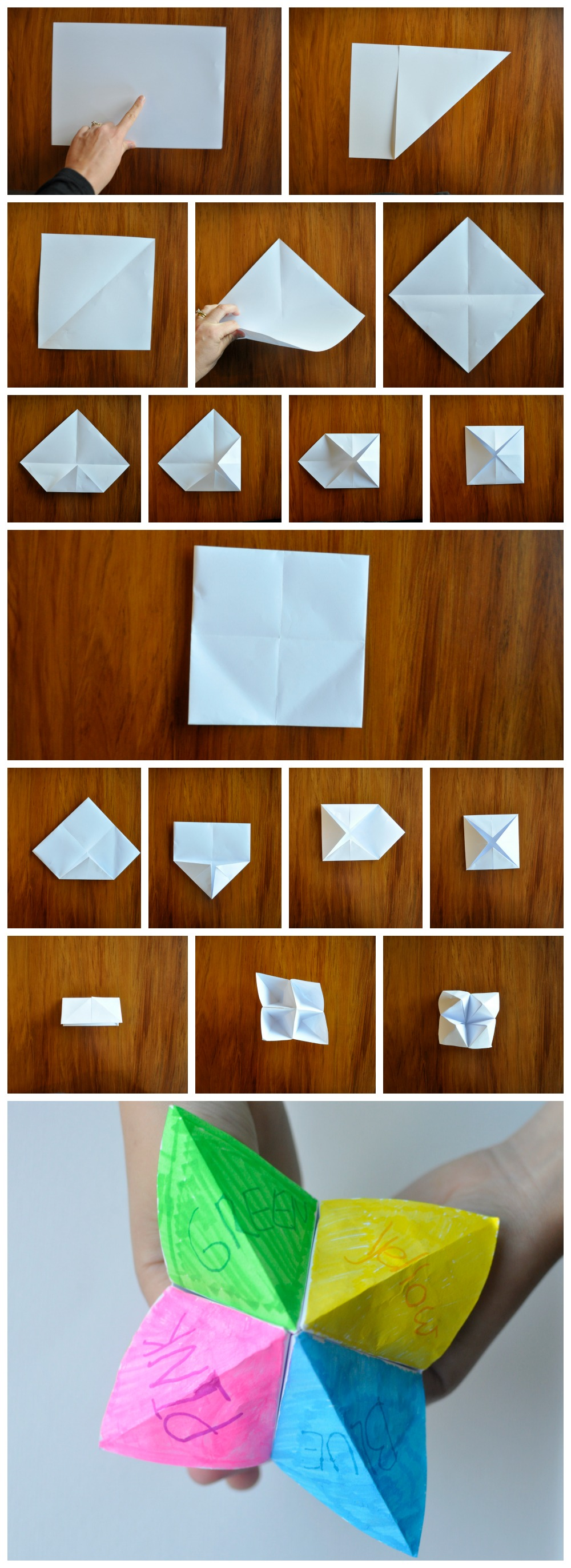 How to make a Chatterbox - Classic game