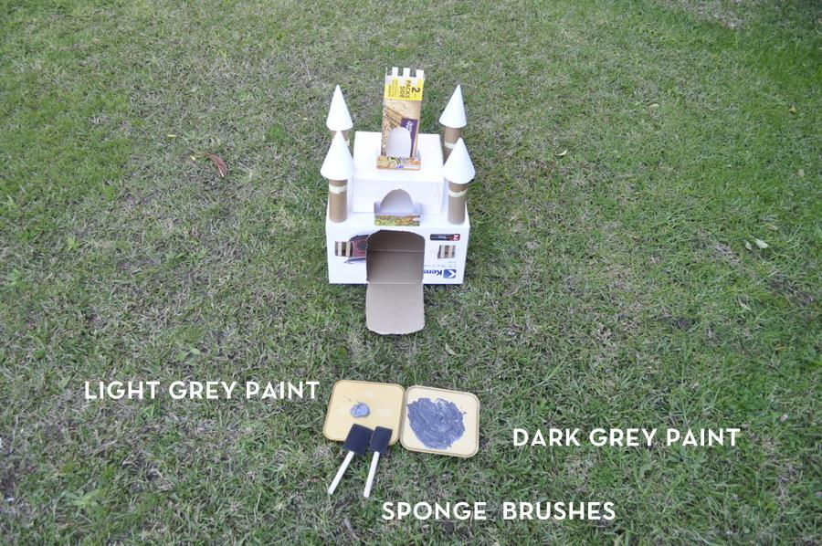 Make a box castle