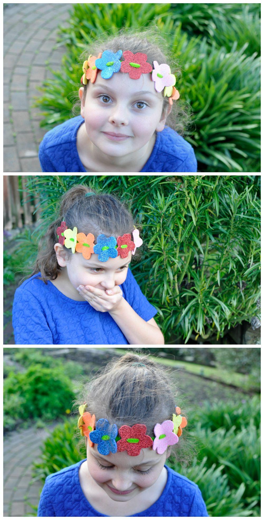 Craft Foam Flower Head Wreath