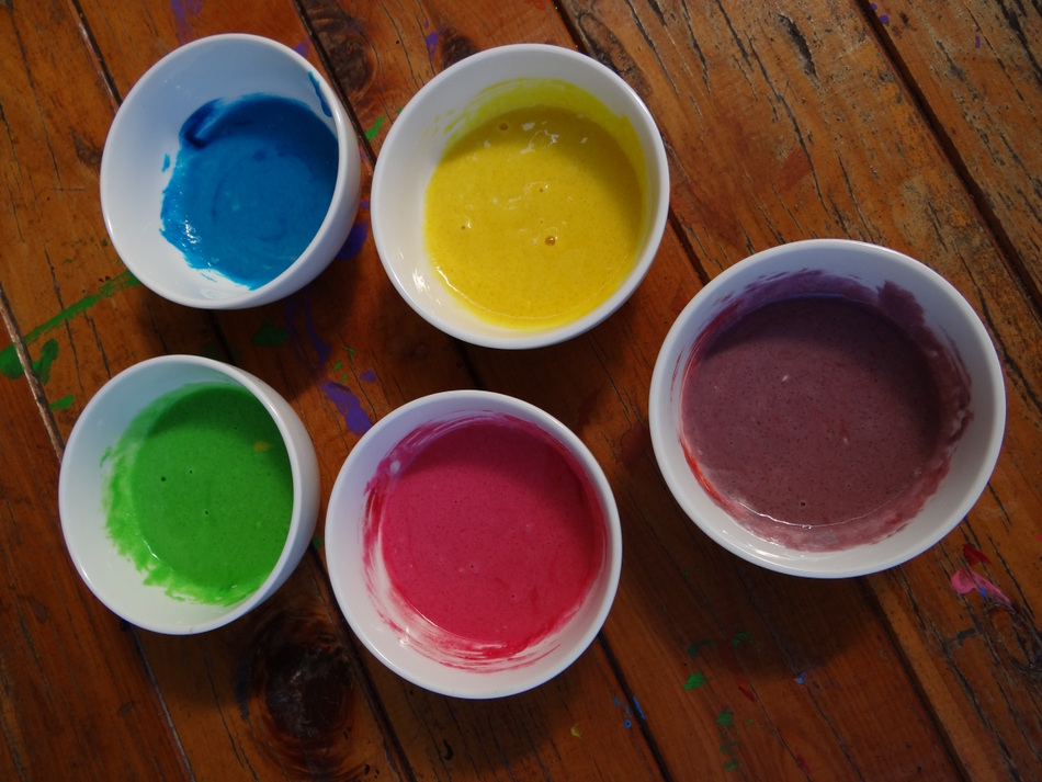 How to make your own puff paint with items from the pantry