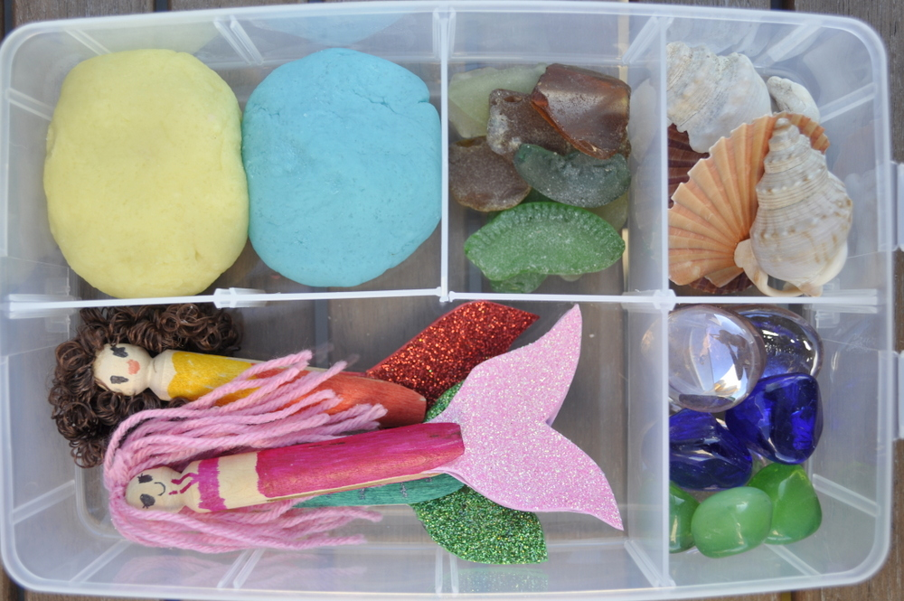 Play Dough Kit - Mermaid/Sea