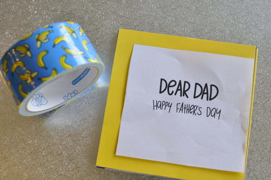 Father's Day Idea - Make a Mini Book