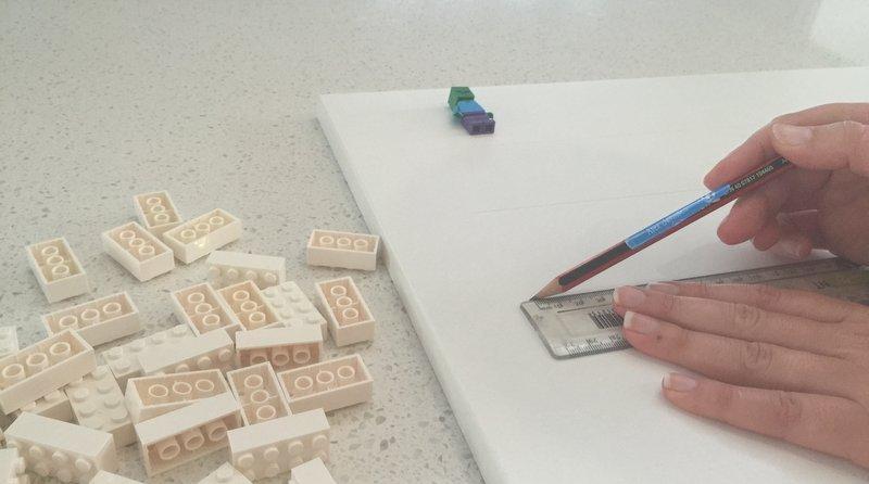 DIY LEGO Mini-Fig Board