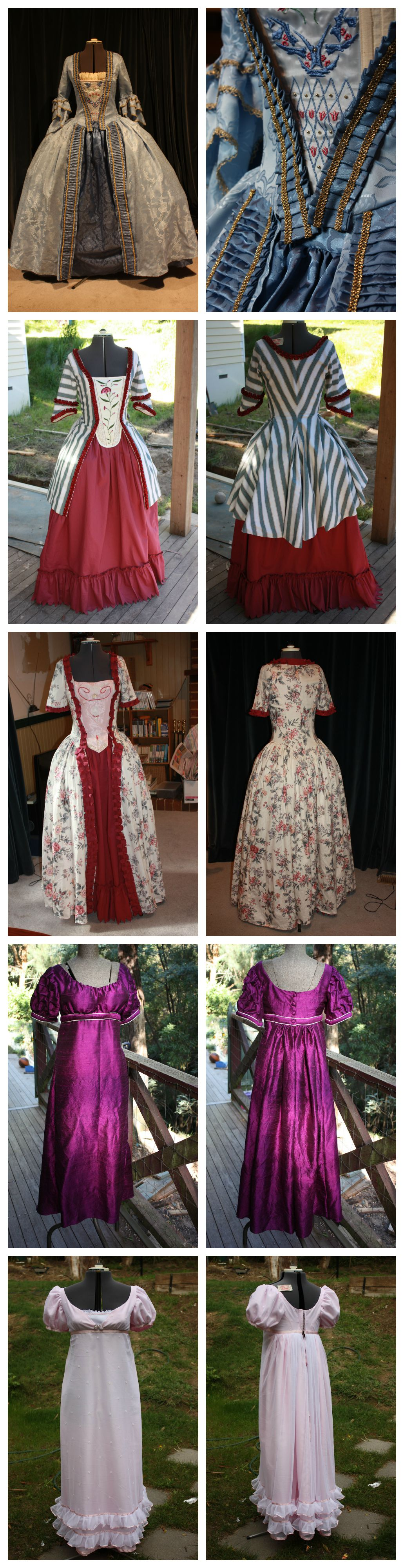 Period Dresses - Tutorials