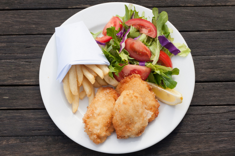 Fish and Chips at home