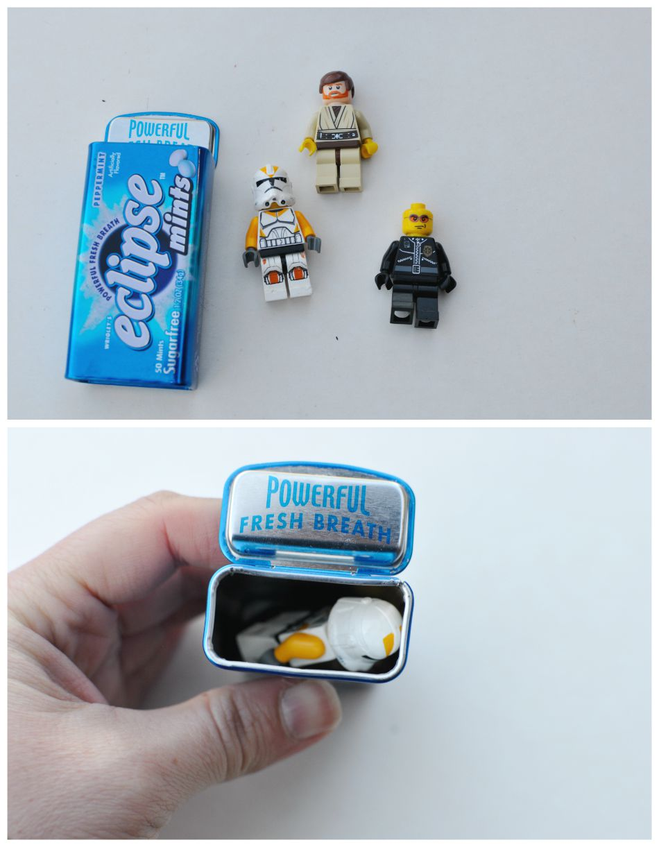 Fun things to keep in your handbag - Lego Mini Figs