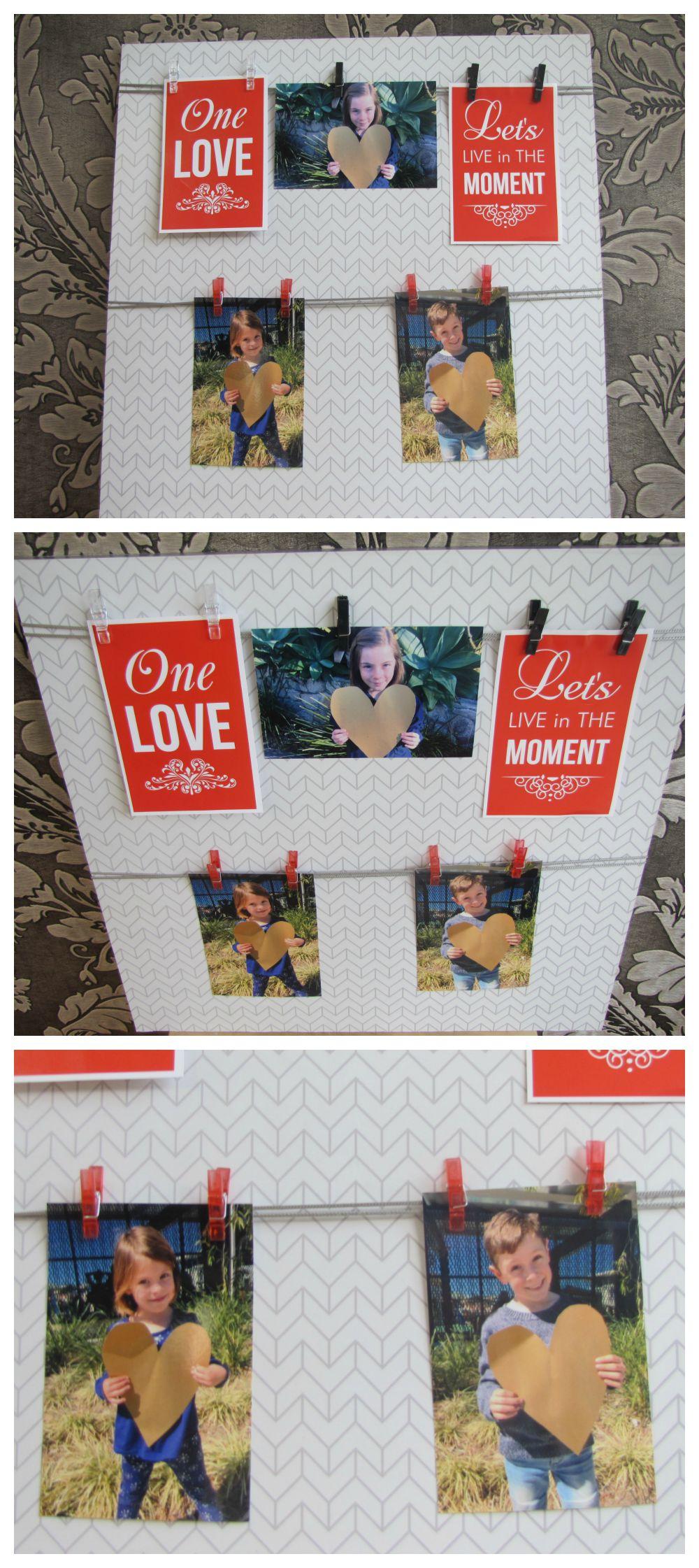 Father's Day Gift Idea - Photo board