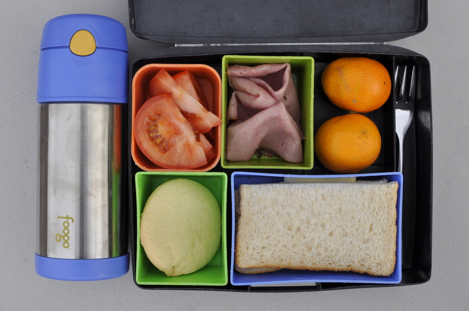 Lunch Box Food Ideas - ice cold water