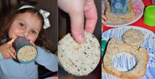 fun for toddlers - bread shapes